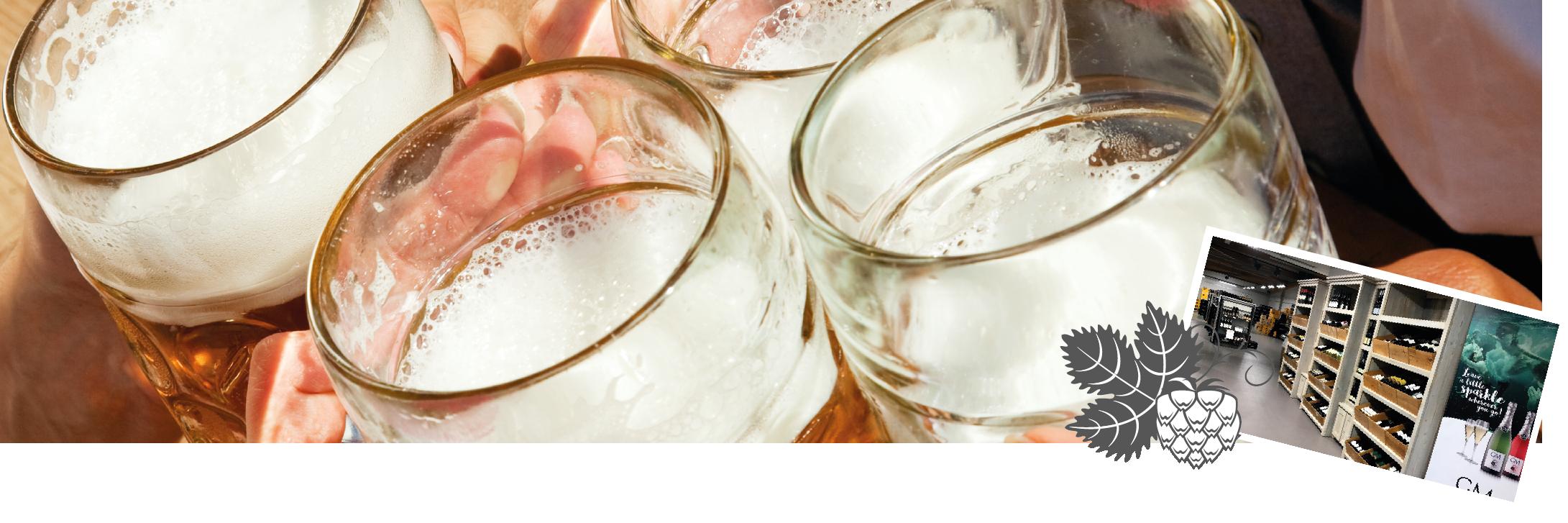 Drank nodig op je feest? Drinkhall Geenen helpt je daarbij.